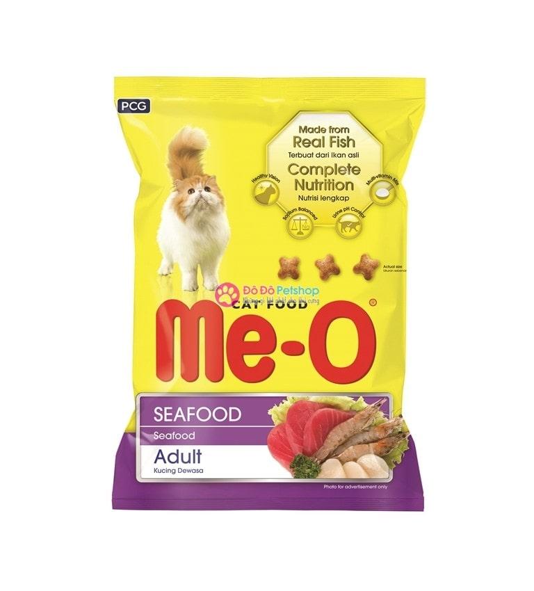 Thức ăn khô Me-O cho mèo