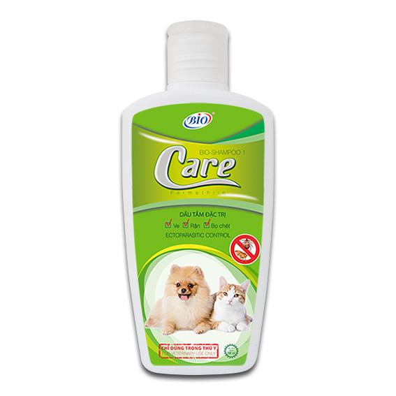 Sữa tắm trị ve, rận, bọ chét cho mèo Biocare