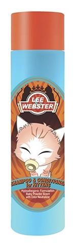 Dầu gội và xả Lee & Webster cho mèo con