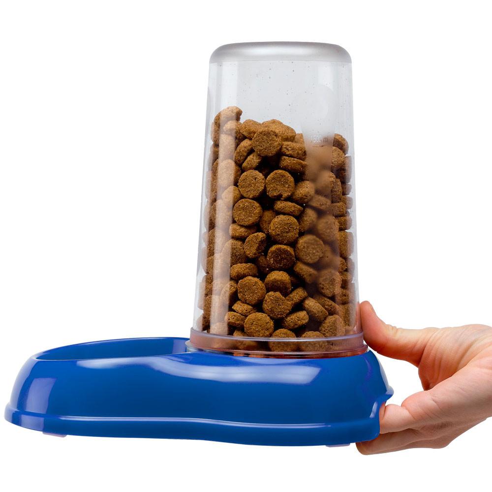 Bình cấp nước/thức ăn chống tràn cho mèo