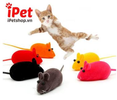 Chuột nhung đồ chơi cho mèo