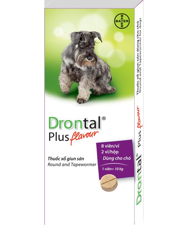 Thuốc xổ giun Drontal Plus Bayer