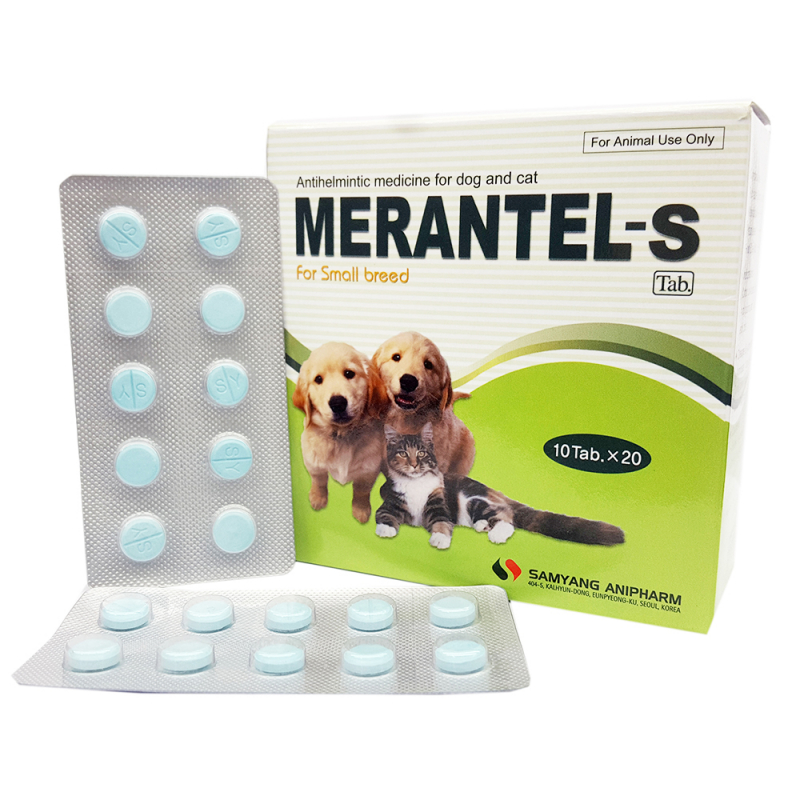 Thuốc tẩy giun Merantel-S