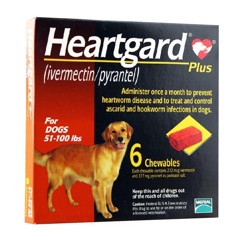 Thuốc tẩy giun Heartgard Plus