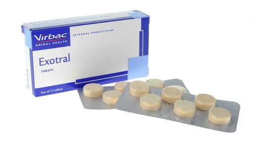 Thuốc tẩy giun Exotral